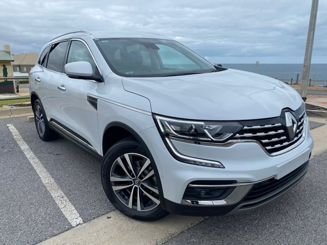 Used Renault Koleos HZG Zen X-tronic Christies Beach, 2019 Renault Koleos HZG Zen X-tronic White 1 Speed Constant Variable Wagon