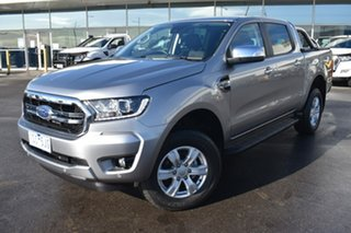 2020 Ford Ranger PX MkIII 2020.25MY XLT Silver 6 Speed Manual Double Cab Pick Up.