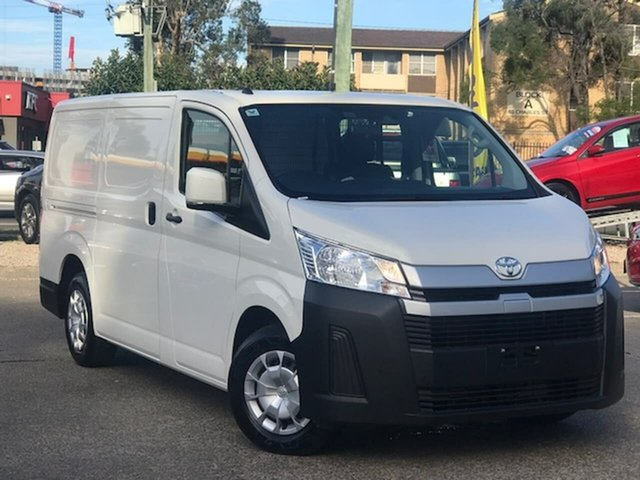 Used Toyota HiAce GDH300R LWB Liverpool, 2020 Toyota HiAce GDH300R LWB White 6 Speed Sports Automatic Van