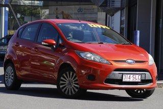 2012 Ford Fiesta WT LX PwrShift Orange 6 Speed Sports Automatic Dual Clutch Hatchback.