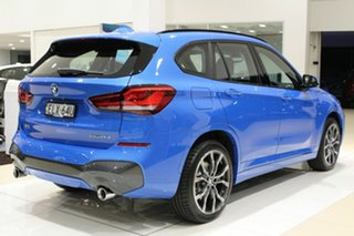 2020 BMW X1 F48 LCI xDrive25i Steptronic AWD Misano Blue Metallic 8 Speed Sports Automatic Wagon.