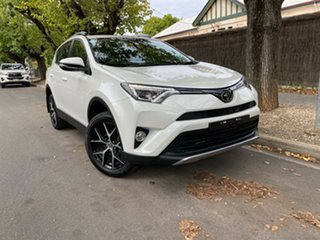 2018 Toyota RAV4 ZSA42R GXL 2WD Crystal Pearl 7 Speed Constant Variable Wagon.