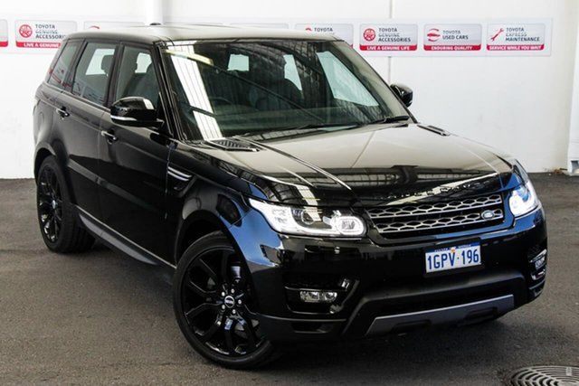 Pre-Owned Land Rover Range Rover LW Sport 3.0 TDV6 SE Myaree, 2014 Land Rover Range Rover LW Sport 3.0 TDV6 SE 8 Speed Automatic Wagon