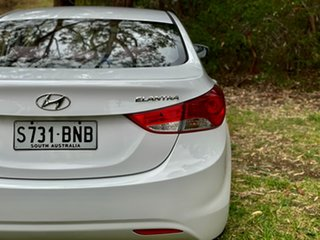 2012 Hyundai Elantra MD Active Creamy White 6 Speed Sports Automatic Sedan