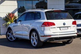 2015 Volkswagen Touareg 7P MY15 V8 TDI Tiptronic 4MOTION R-Line White 8 Speed Sports Automatic Wagon.