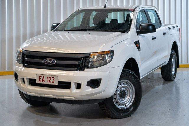 Used Ford Ranger PX XL Hendra, 2014 Ford Ranger PX XL White 6 Speed Sports Automatic Cab Chassis