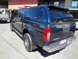 2008 Nissan Navara D40 ST-X (4x4) Blue 5 Speed Automatic Dual Cab Pick-up.