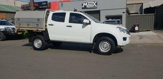 2015 Isuzu D-MAX TF MY15 SX HI-Ride (4x2) White 5 Speed Automatic Crew Cab Utility