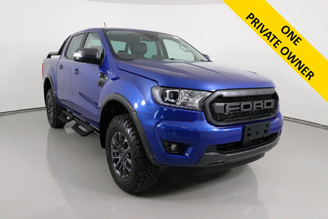 Used Ford Ranger PX MkIII MY20.25 FX4 Max Bentley, 2020 Ford Ranger PX MKIII 2021.2 FX4 Max Blue 10 Speed Sports Automatic Double Cab Pick Up