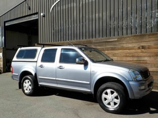 2006 Holden Rodeo RA MY06 LX Crew Cab 4x2 Blue 5 Speed Manual Utility.