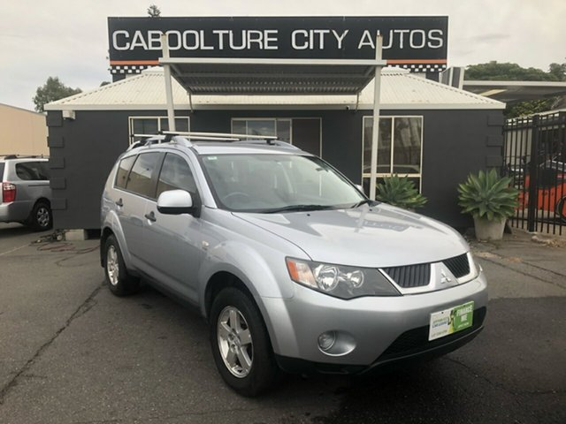 Used Mitsubishi Outlander ZG MY08 LS Morayfield, 2008 Mitsubishi Outlander ZG MY08 LS Silver 6 Speed CVT Auto Sequential Wagon