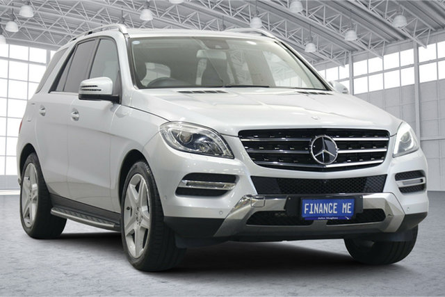 Used Mercedes-Benz M-Class W166 ML500 7G-Tronic + Victoria Park, 2014 Mercedes-Benz M-Class W166 ML500 7G-Tronic + Silver 7 Speed Sports Automatic Wagon