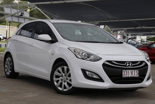 Used Hyundai i30 GD2 Active Bundamba, 2014 Hyundai i30 GD2 Active White 6 Speed Sports Automatic Hatchback