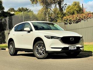 2018 Mazda CX-5 KF4WLA Touring SKYACTIV-Drive i-ACTIV AWD Pearl White 6 Speed Sports Automatic Wagon.