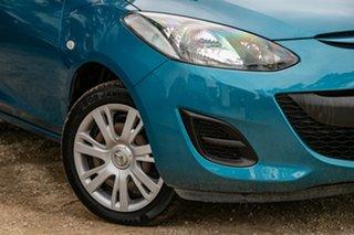 2012 Mazda 2 DE10Y2 MY12 Neo Aquatic Blue 4 Speed Automatic Hatchback.