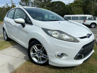 2011 Ford Fiesta WS Zetec White 4 Speed Automatic Hatchback.