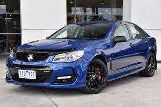 2017 Holden Commodore VF II MY17 SS V Redline Blue 6 Speed Sports Automatic Sedan.