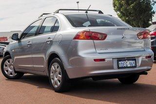 2009 Mitsubishi Lancer CJ MY09 ES Silver 6 Speed Constant Variable Sedan.