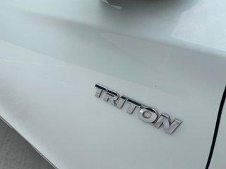2016 Mitsubishi Triton MQ MY16 GLX 4x2 White 6 Speed Manual Cab Chassis