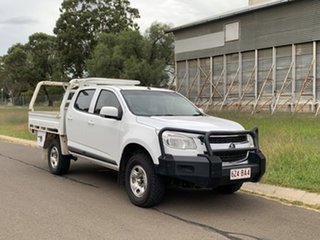 2016 Holden Colorado RG MY16 LS (4x4) White 6 Speed Manual Cab Chassis.