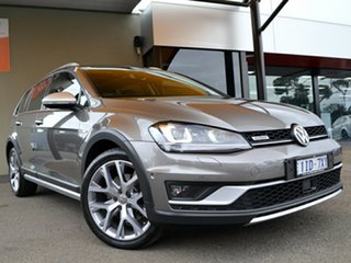 2017 Volkswagen Golf VII MY17 Alltrack DSG 4MOTION 132TSI Limestone Grey 6 Speed.