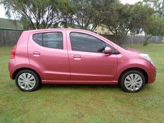 2013 Suzuki Alto GF GL Pink 5 Speed Manual Hatchback.