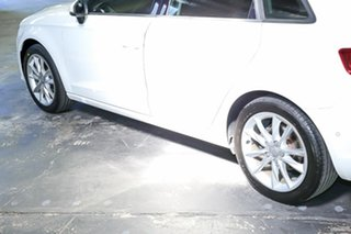 2015 Audi A3 8V MY15 Attraction Sportback S Tronic White 7 Speed Sports Automatic Dual Clutch