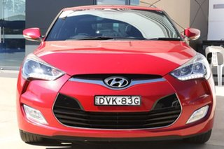 2016 Hyundai Veloster FS5 Series II Street Coupe Red 6 Speed Manual Hatchback