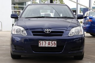 2004 Toyota Corolla ZZE122R 5Y Ascent Blue 4 Speed Automatic Hatchback