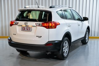 2014 Toyota RAV4 ASA44R MY14 GX AWD White 6 Speed Sports Automatic Wagon