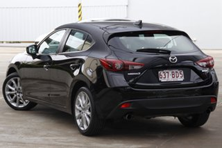 2015 Mazda 3 BM5436 SP25 SKYACTIV-MT GT Jet Black 6 Speed Manual Hatchback.