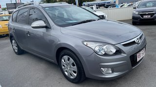 2011 Hyundai i30 FD MY11 SX cw Wagon Titanium Grey 4 Speed Automatic Wagon.