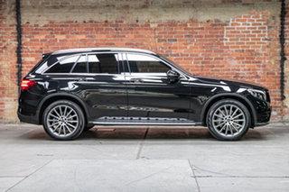 2017 Mercedes-Benz GLC-Class X253 807MY GLC250 9G-Tronic 4MATIC Obsidian Black 9 Speed