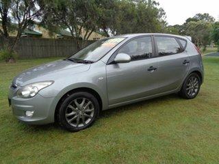 2011 Hyundai i30 FD MY11 SR Silver 5 Speed Manual Hatchback.