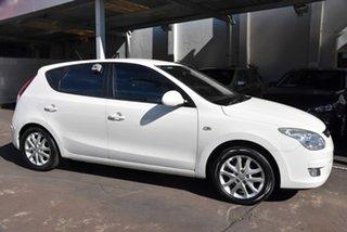2010 Hyundai i30 FD MY10 SLX White 4 Speed Automatic Hatchback.
