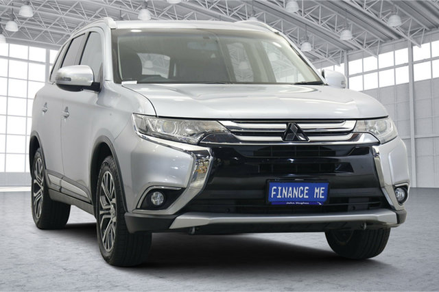 Used Mitsubishi Outlander ZK MY16 LS 4WD Victoria Park, 2016 Mitsubishi Outlander ZK MY16 LS 4WD Apex Silver 6 Speed Constant Variable Wagon