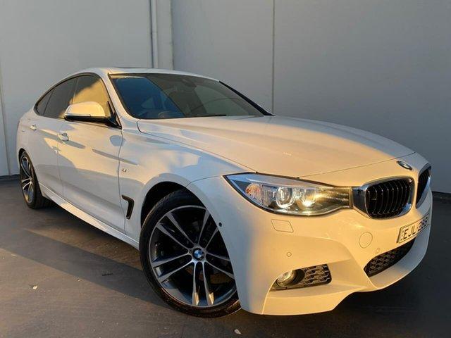 Used BMW 3 Series F34 320i Gran Turismo M Sport Liverpool, 2016 BMW 3 Series F34 320i Gran Turismo M Sport White 8 Speed Sports Automatic Hatchback