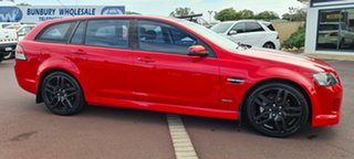 2010 Holden Commodore VE II SV6 Sportwagon Red 6 Speed Sports Automatic Wagon
