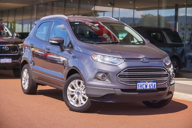 Used Ford Ecosport BK Titanium PwrShift Gosnells, 2017 Ford Ecosport BK Titanium PwrShift Grey 6 Speed Sports Automatic Dual Clutch Wagon