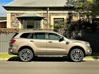 2018 Ford Everest UA II 2019.00MY Titanium Diffused Silver/leat 10 Speed Sports Automatic SUV