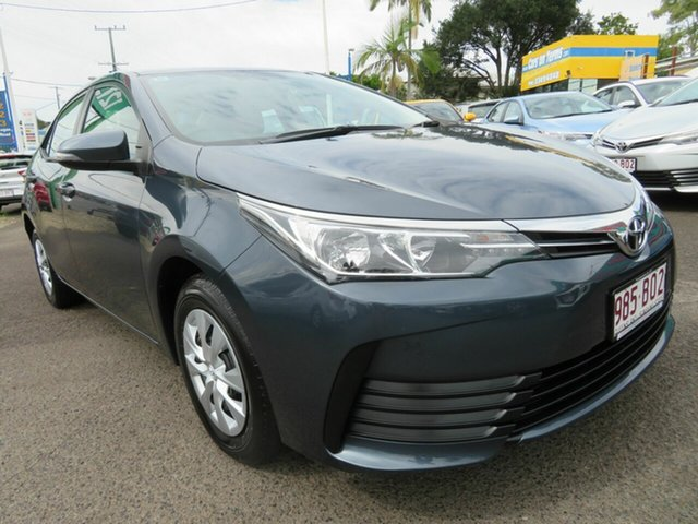 Used Toyota Corolla ZRE172R Ascent S-CVT Mount Gravatt, 2019 Toyota Corolla ZRE172R Ascent S-CVT Grey 7 Speed Constant Variable Sedan