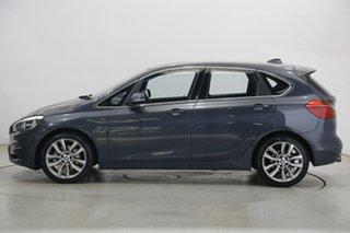 2015 BMW 2 Series F45 218i Active Tourer Steptronic Luxury Line Blue 6 Speed Automatic Hatchback.