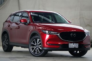 2017 Mazda CX-5 MY17 Akera (4x4) Red 6 Speed Automatic Wagon.