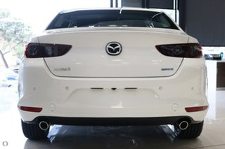 2021 Mazda 3 BP2SLA G25 SKYACTIV-Drive Evolve White 6 Speed Sports Automatic Sedan.