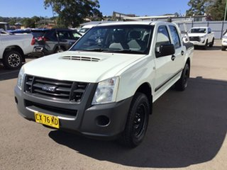 2009 Isuzu D-MAX MY09 SX 4x2 White 5 Speed Manual Utility