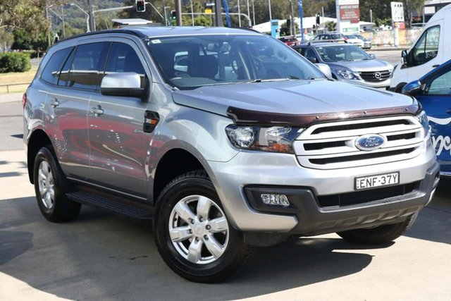 Used Ford Everest UA Ambiente West Gosford, 2017 Ford Everest UA Ambiente Silver 6 Speed Sports Automatic SUV