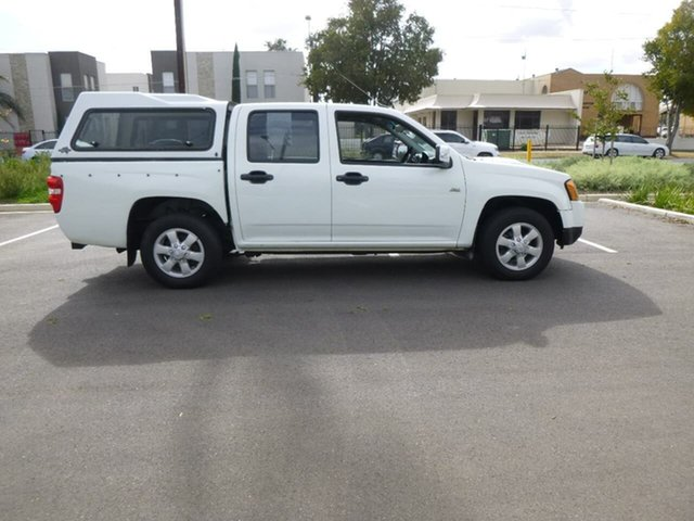 Used Holden Colorado RC LX Beverley, 2009 Holden Colorado RC LX White Manual Utility