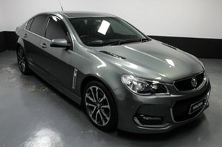 2015 Holden Commodore VF II MY16 SS V Prussian Steel 6 Speed Sports Automatic Sedan.