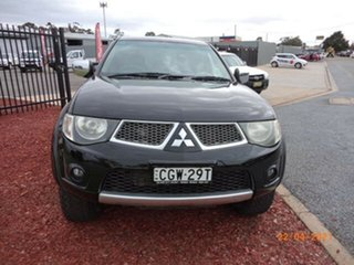 2012 Mitsubishi Triton MN MY12 GL-R (4x4) Black 5 Speed Manual Double Cab Utility.