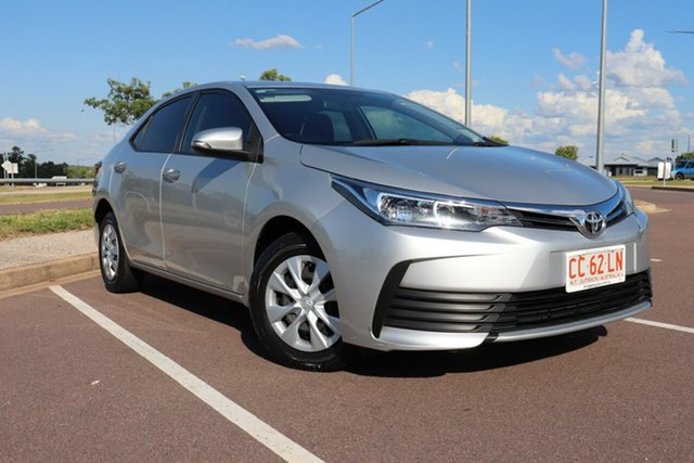 Pre-Owned Toyota Corolla ZRE172R Ascent S-CVT Palmerston, 2017 Toyota Corolla ZRE172R Ascent S-CVT Silver Ash 7 Speed Automatic Sedan